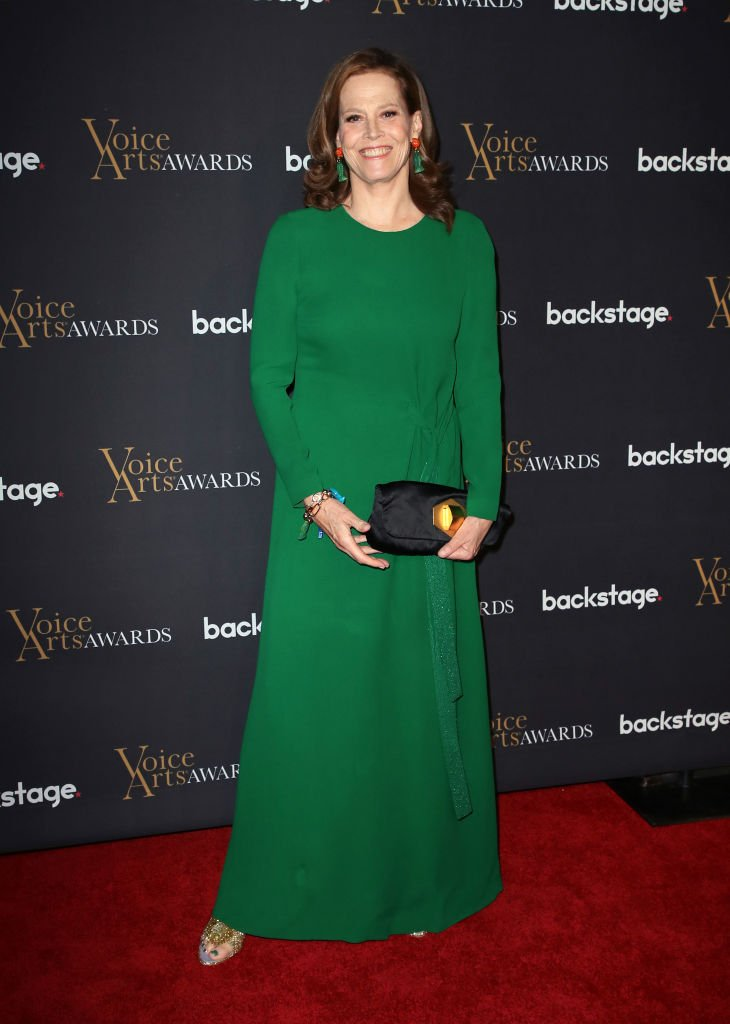 Sigourney Weaver attends the 5th Annual Voice Arts Awards at Warner Bros. Studios | Getty Images