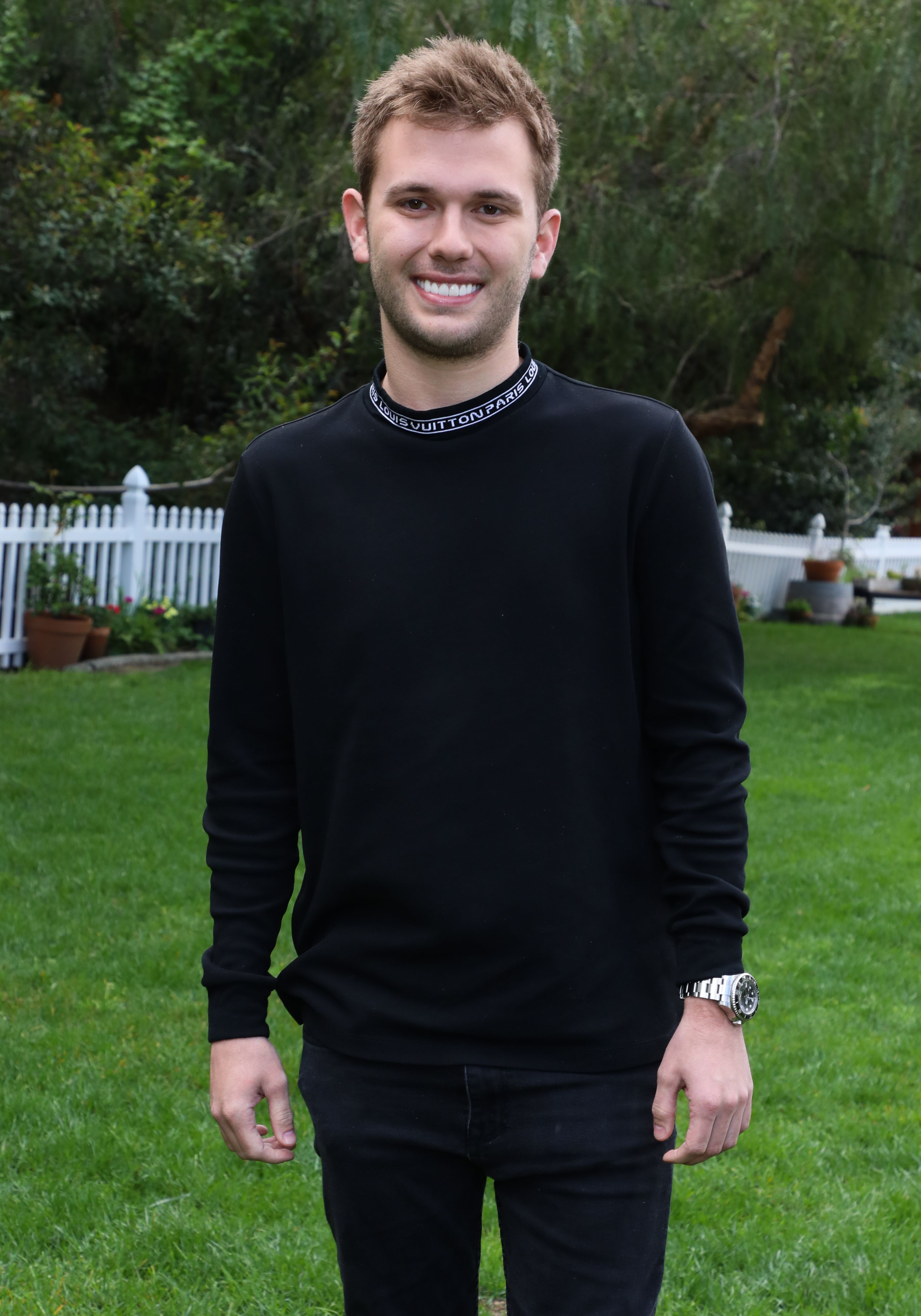 """Chase Chrisley at Hallmark's """"Home & Family"""" at Universal Studios Hollywood on March 27, 2019 in Universal City, California. 