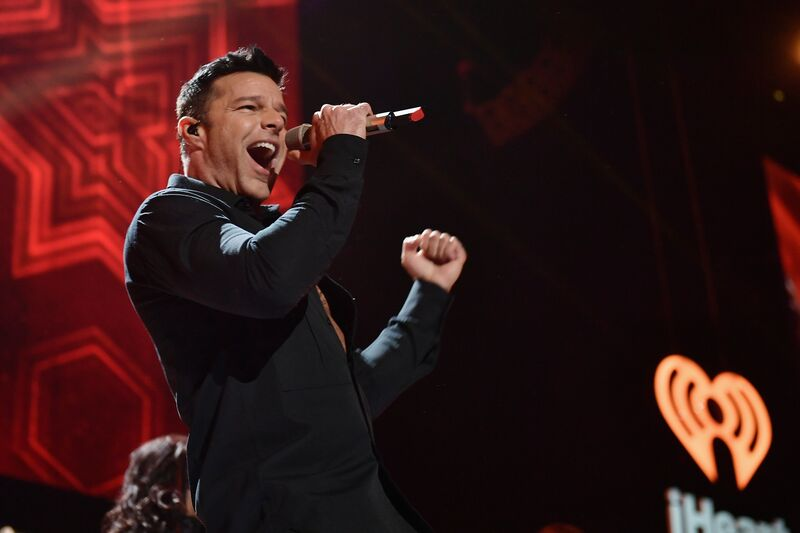 Ricky Martin at the iHeart Radio Awards | Source: Getty Images/GlobalImagesUkraine