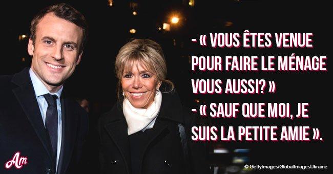Quand Brigitte Macron a été prise pour la mère d'Emmanuel quand il était étudiant