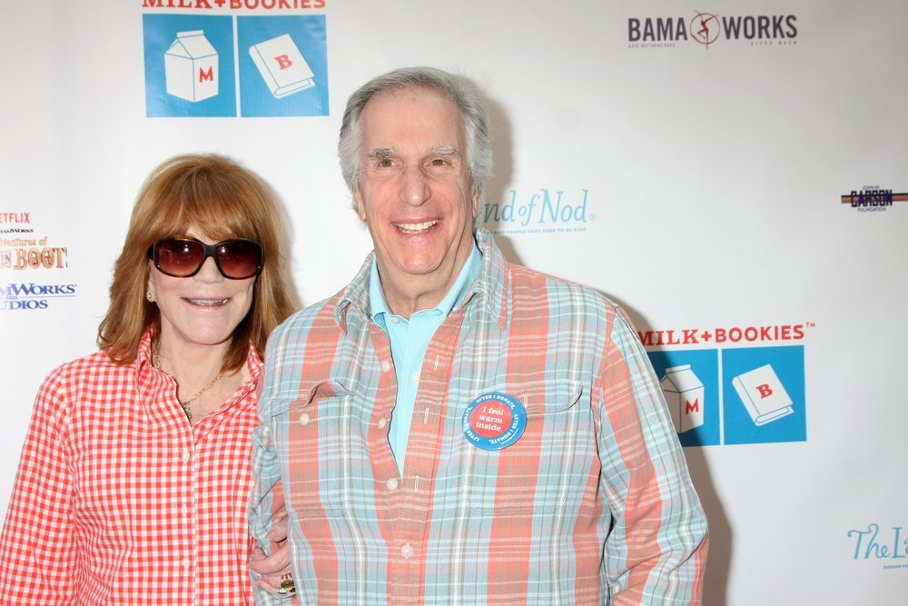 Stacey Winkler and Henry Winkler at the Milk+Bookies Sixth Annual Story Time Celebration at the Toyota Grand Prix Racecourse on April 19, 2015 | Source: Shutterstock