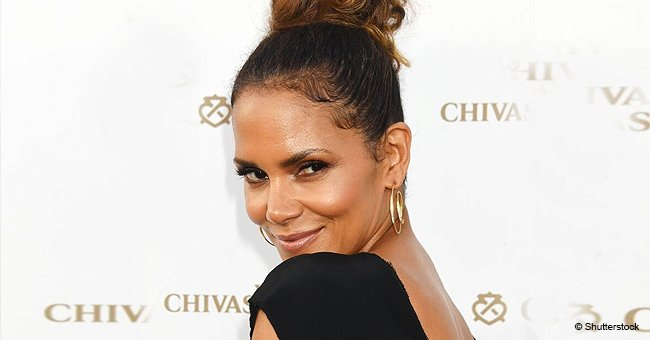 Halle Berry Shows off New Massive Spine Tattoo in Topless Photo