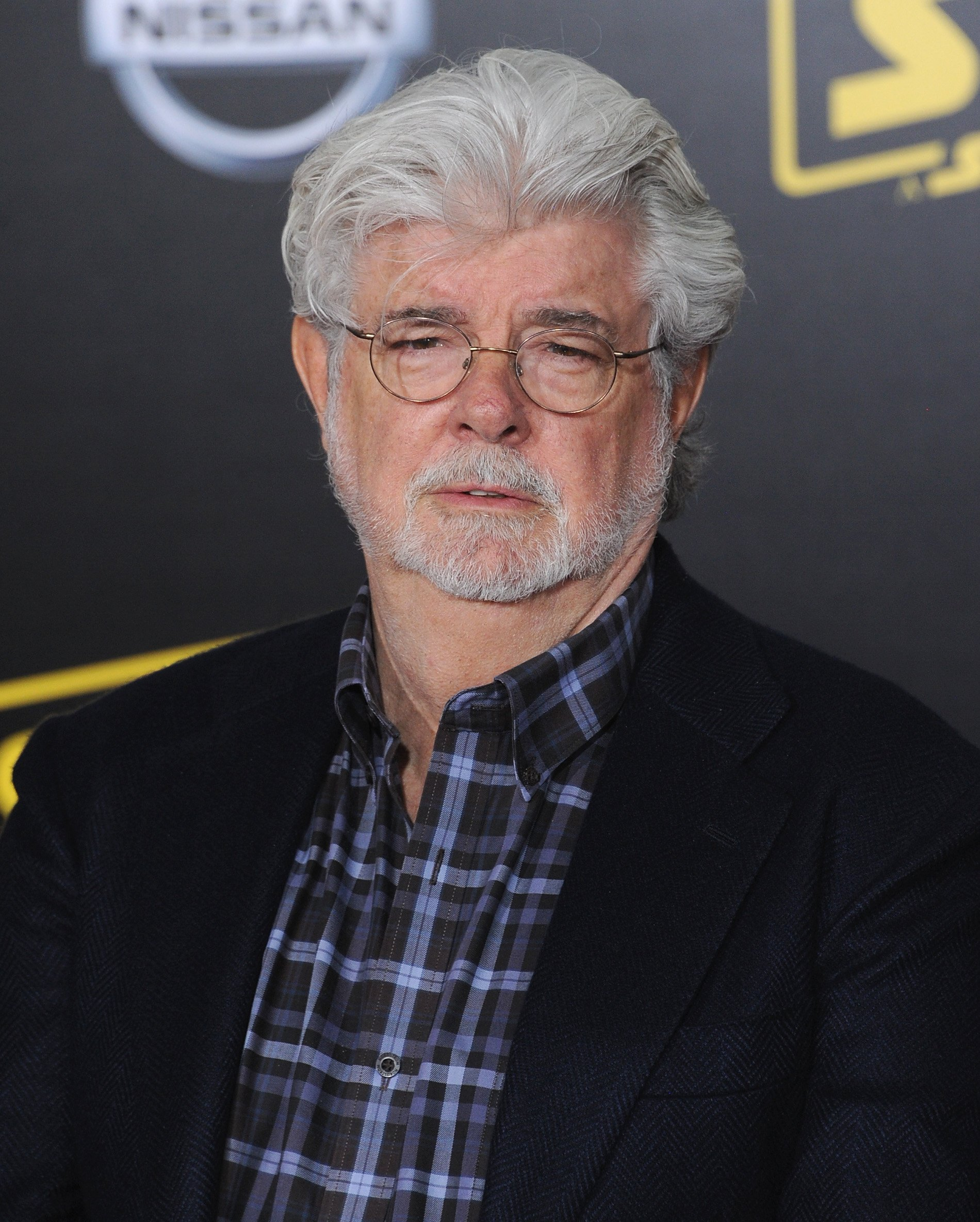 """George Lucas attends the premiere of """"Solo: A Star Wars Story"""" in Los Angeles, California on May 10, 2018 