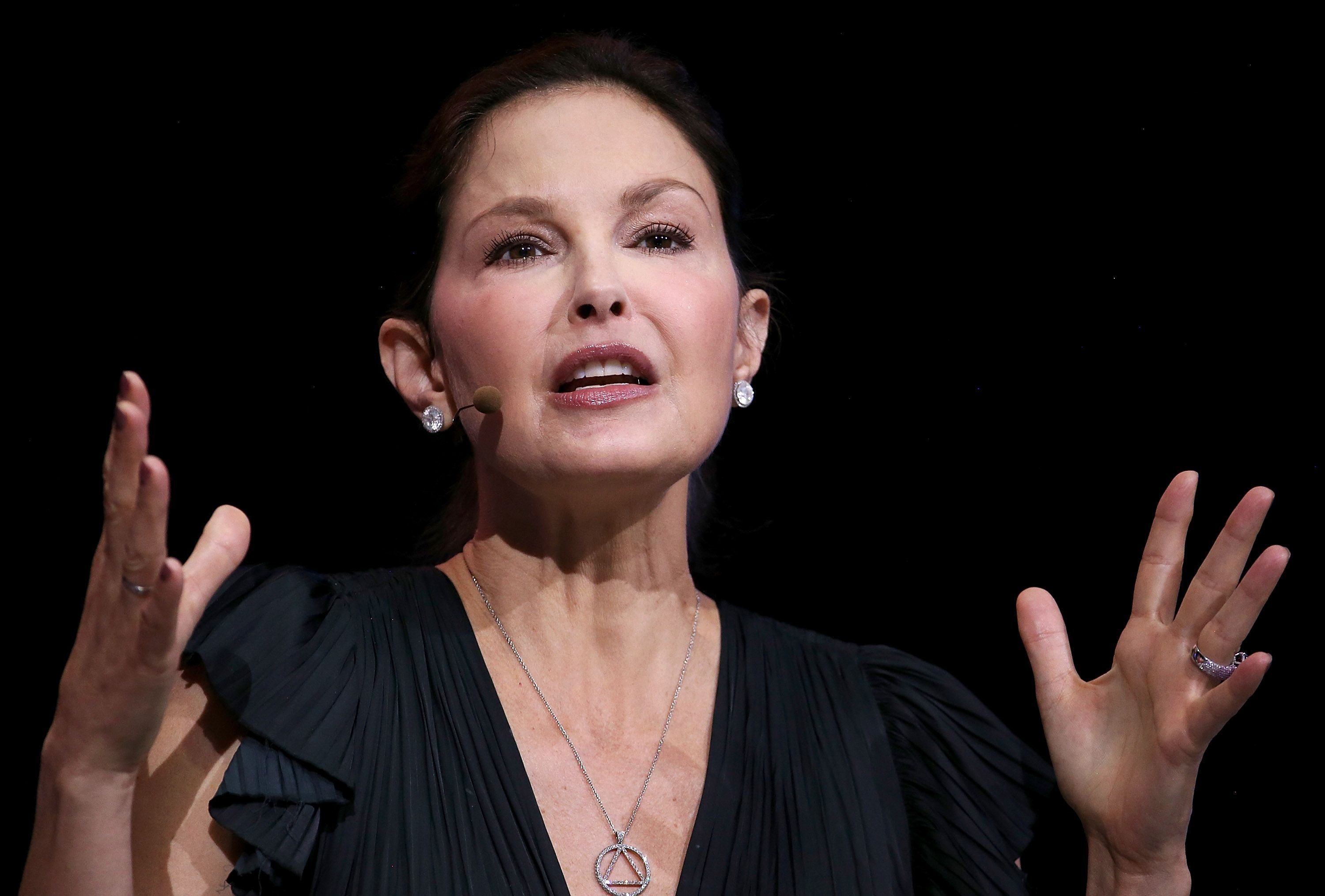 Ashley Judd at the 29th annual Conference of the Professional Businesswomen of California (PBWC) on April 24, 2018 | Getty Images