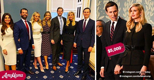 'Team Trump' kids, with Ivanka in military dress, look encouraging in photos taken before SOTU