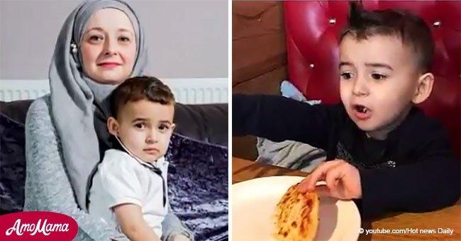 Pizzería comete terrible error que deja a niño de 2 años en el hospital luchando por su vida