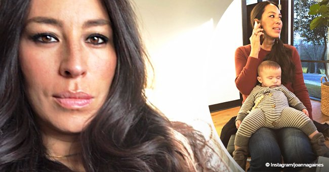 Joanna Gaines warms hearts with picture of her 6-month-old son looking a bit snug in his onesie