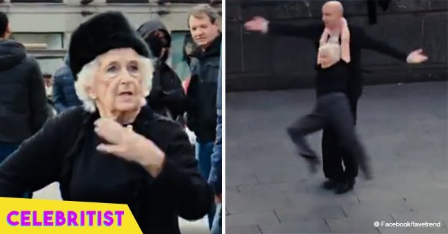 81-year-old woman volunteers to dance on the streets & steals the spotlight in viral video