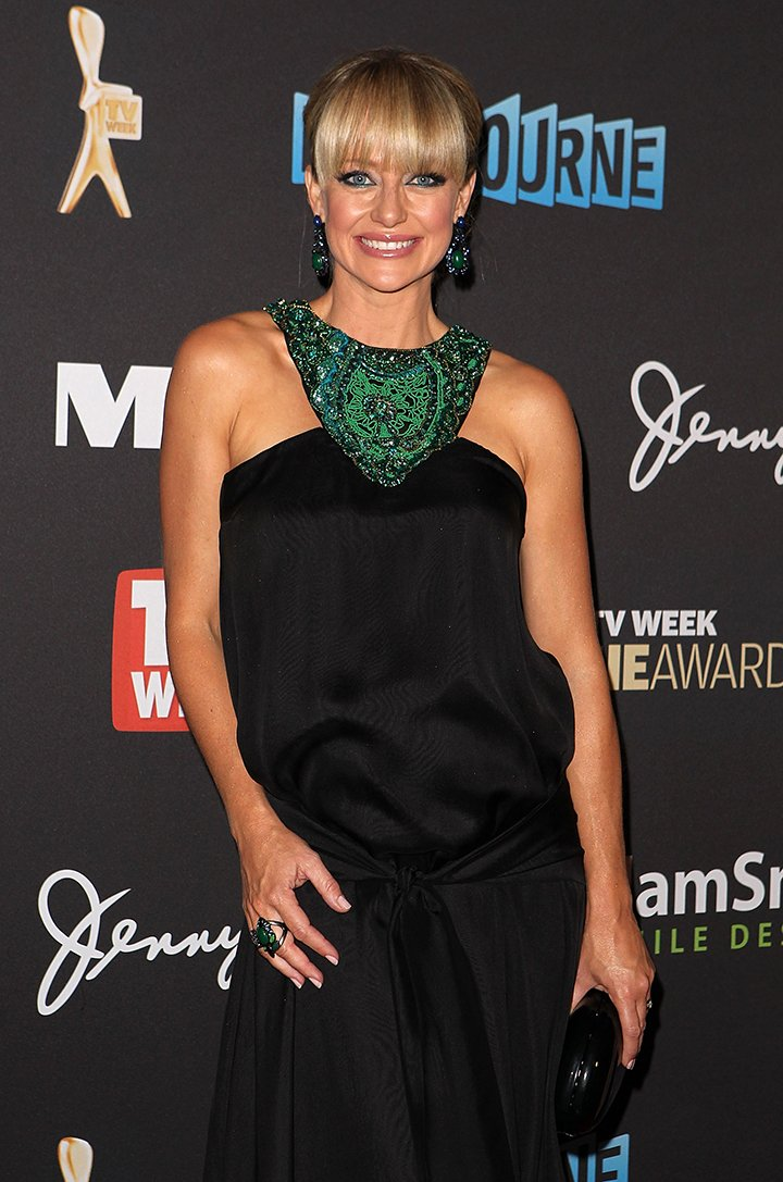 Shelley Craft arriving at the 2012 Logie Awards at the Crown Palladium in Melbourne, Australia, in April 2012. I Image: Getty Images.