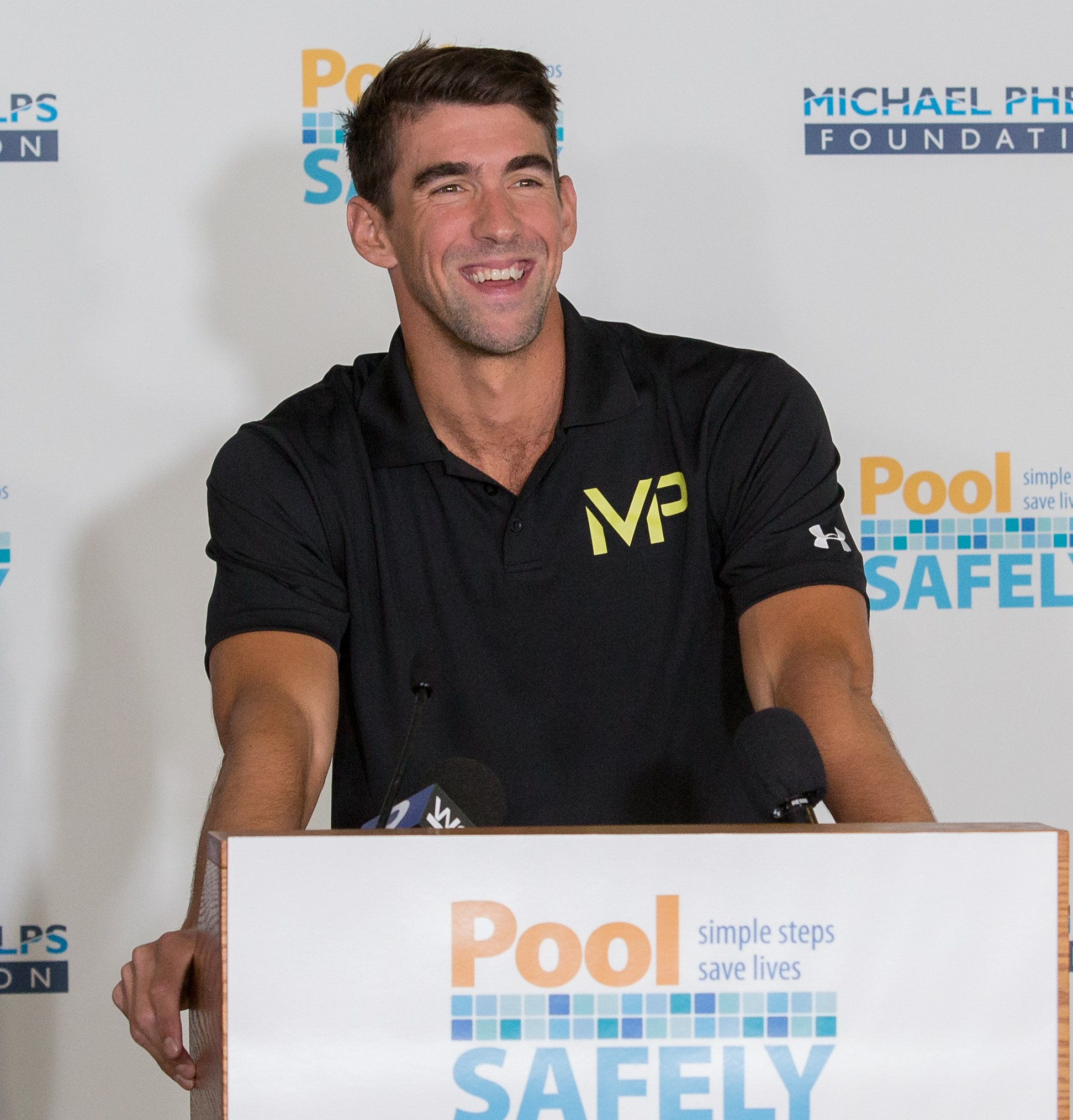 Michael Phelps and Michael Phelps Foundation l Photo : Wikimedia Commons/ Creative Commons Attribution 2.0 Generic