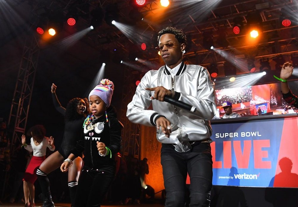 Rapper Silento performing in concert during 2019 Super Bowl in Atlanta, Georgia, in January 2019. | Image: Getty Images.