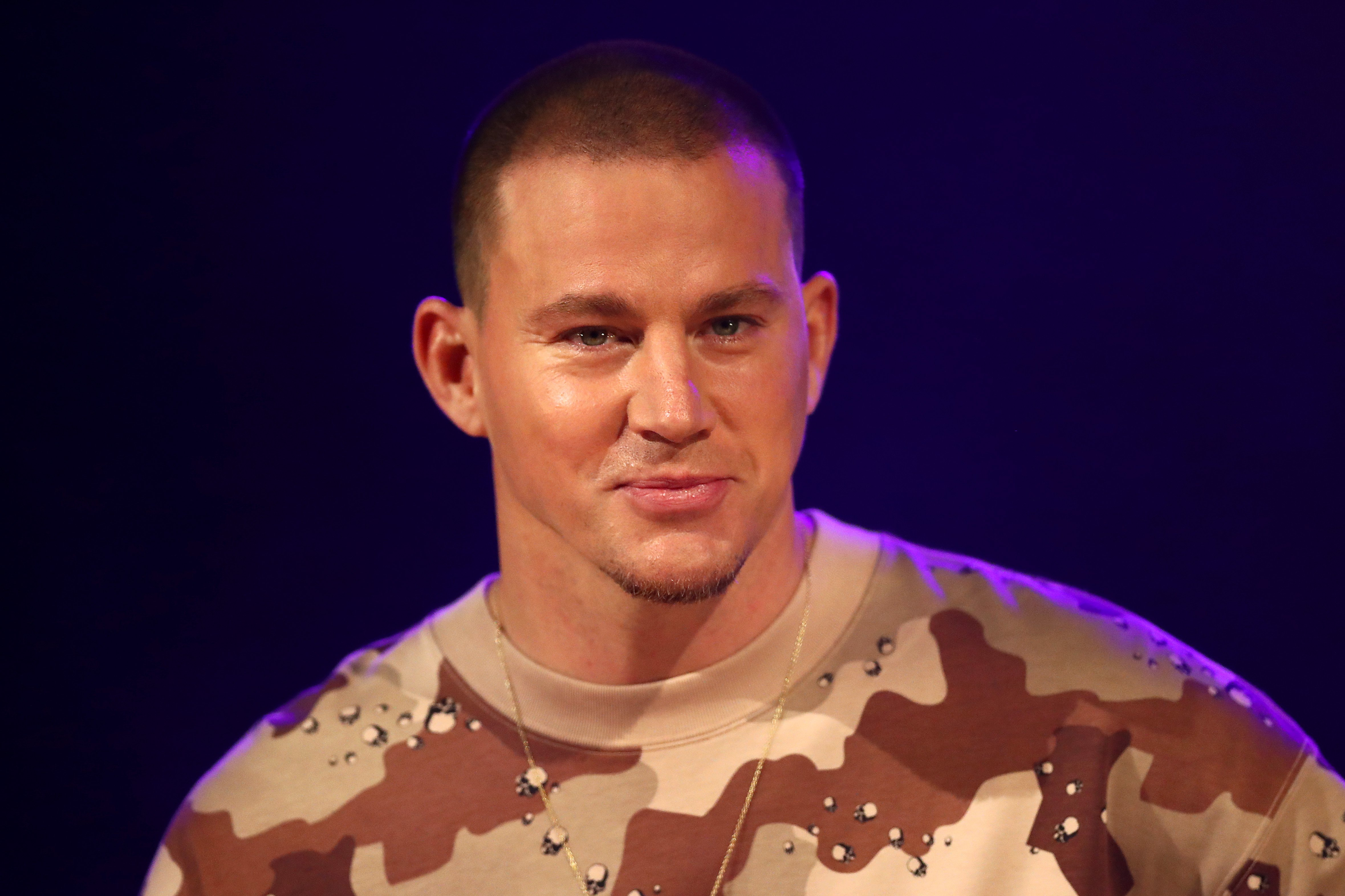 Channing Tatum at a media call on December 3, 2019, in Melbourne, Australia. | Photo: Getty Images
