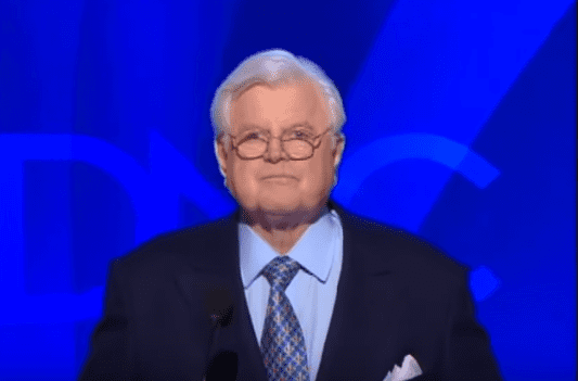 Photo of Ted Kennedy during a 2008 Democratic National Convention | Photo: Youtube / CBS