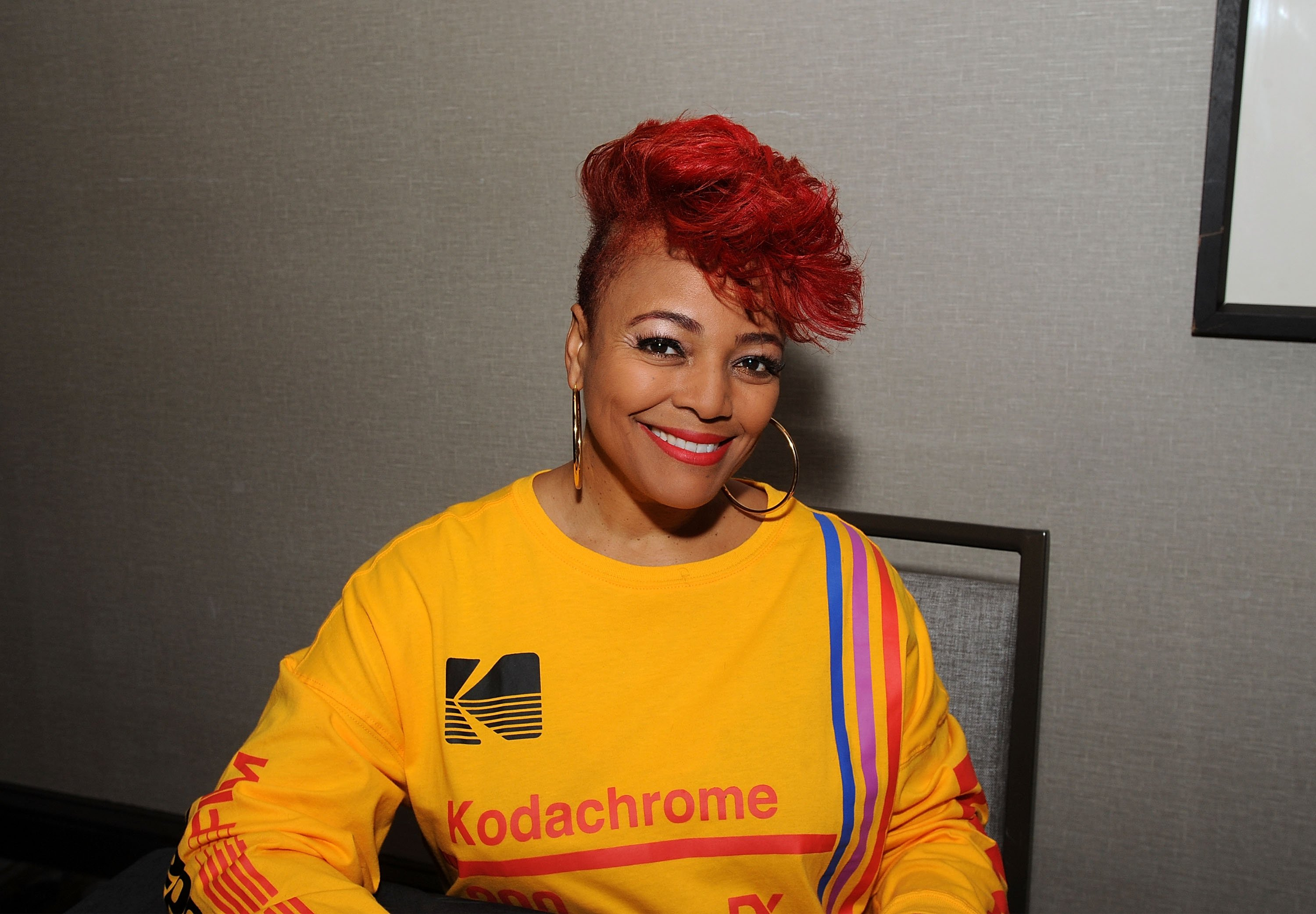 Kim Fields at the Hilton Parsippany on October 27, 2018   Photo: Getty Images