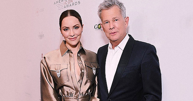 David Foster's Young Fiancée Katharine-McPhee Goes Braless at the American Icon Awards