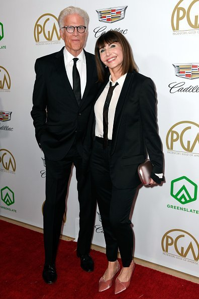 Ted Danson (L) and Mary Steenburgen attend the 30th annual Producers Guild Awards at The Beverly Hilton Hotel on January 19, 2019, in Beverly Hills, California. | Source: Getty Images.