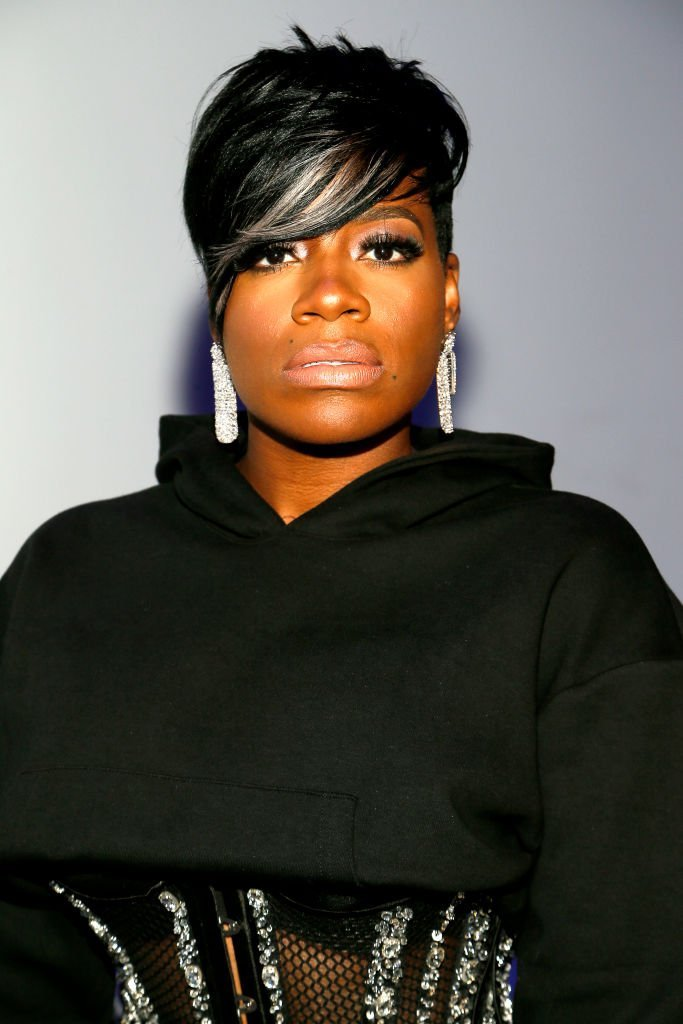Artist Fantasia attends the Laquan Smith front row during New York Fashion Week: The Shows | Photo: Getty Images