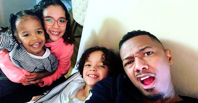 Nick Cannon Is a Doting Dad as He Spends Quality Time with All of His Kids in Adorable Photo