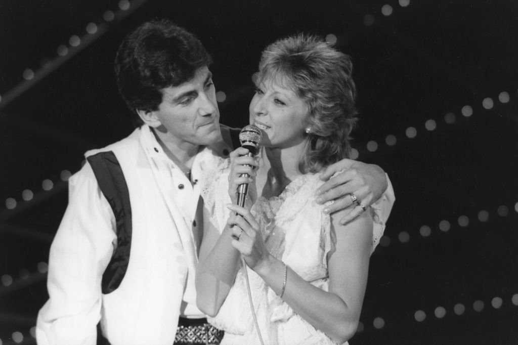 Peter et Sloane lors de l'enregistrement de l'émission 'Cadence 3' à Paris le 21 novembre 1984, France. | Photo : Getty Images