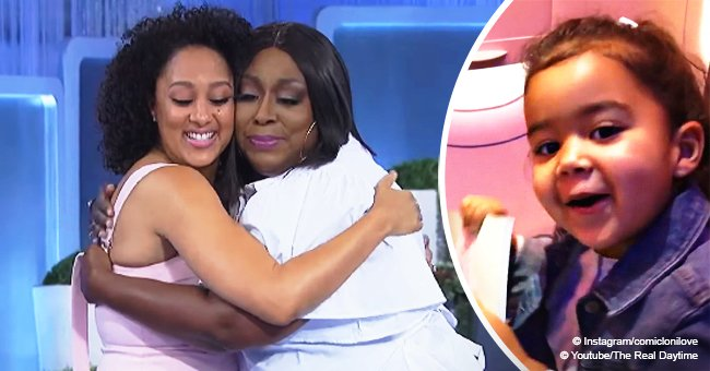 Loni Love shares sweet video of Tamera Mowry's daughter amid 'The Real' co-hosts feud rumors