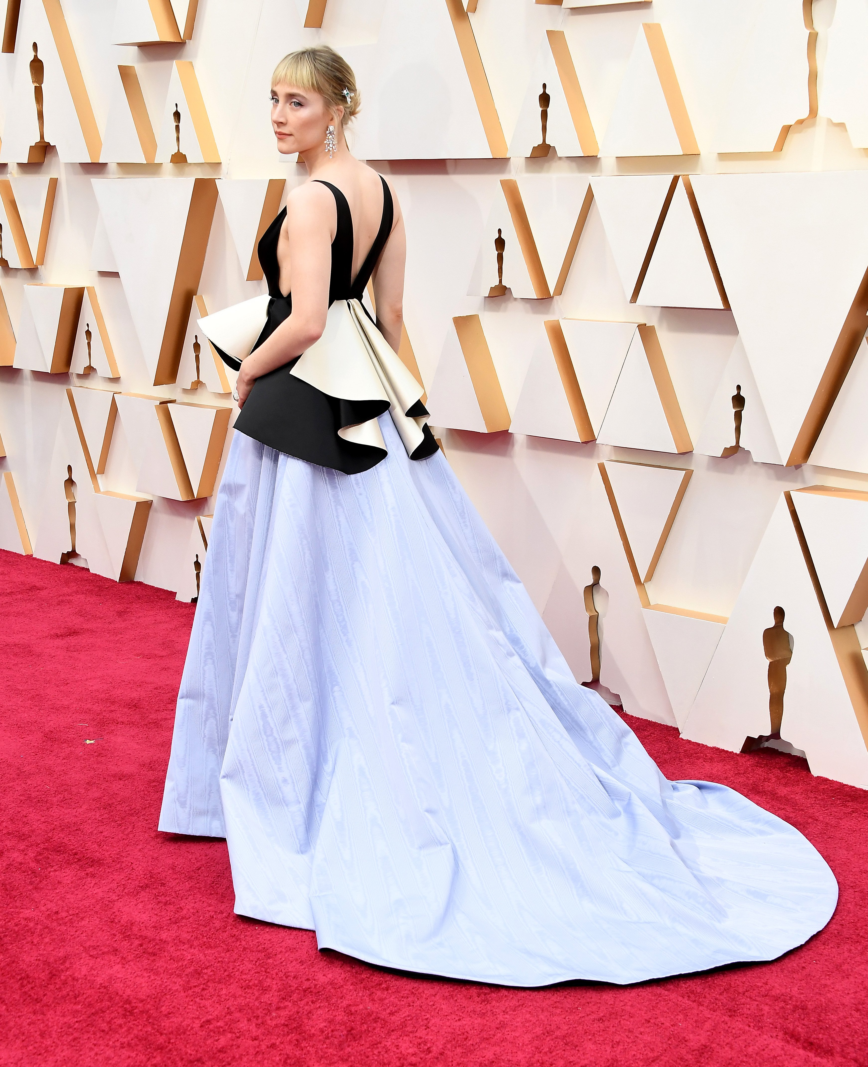 Saoirse Ronan at the 92nd Annual Academy Awards on February 9, 2020 in Hollywood, California. | Photo: Getty Images