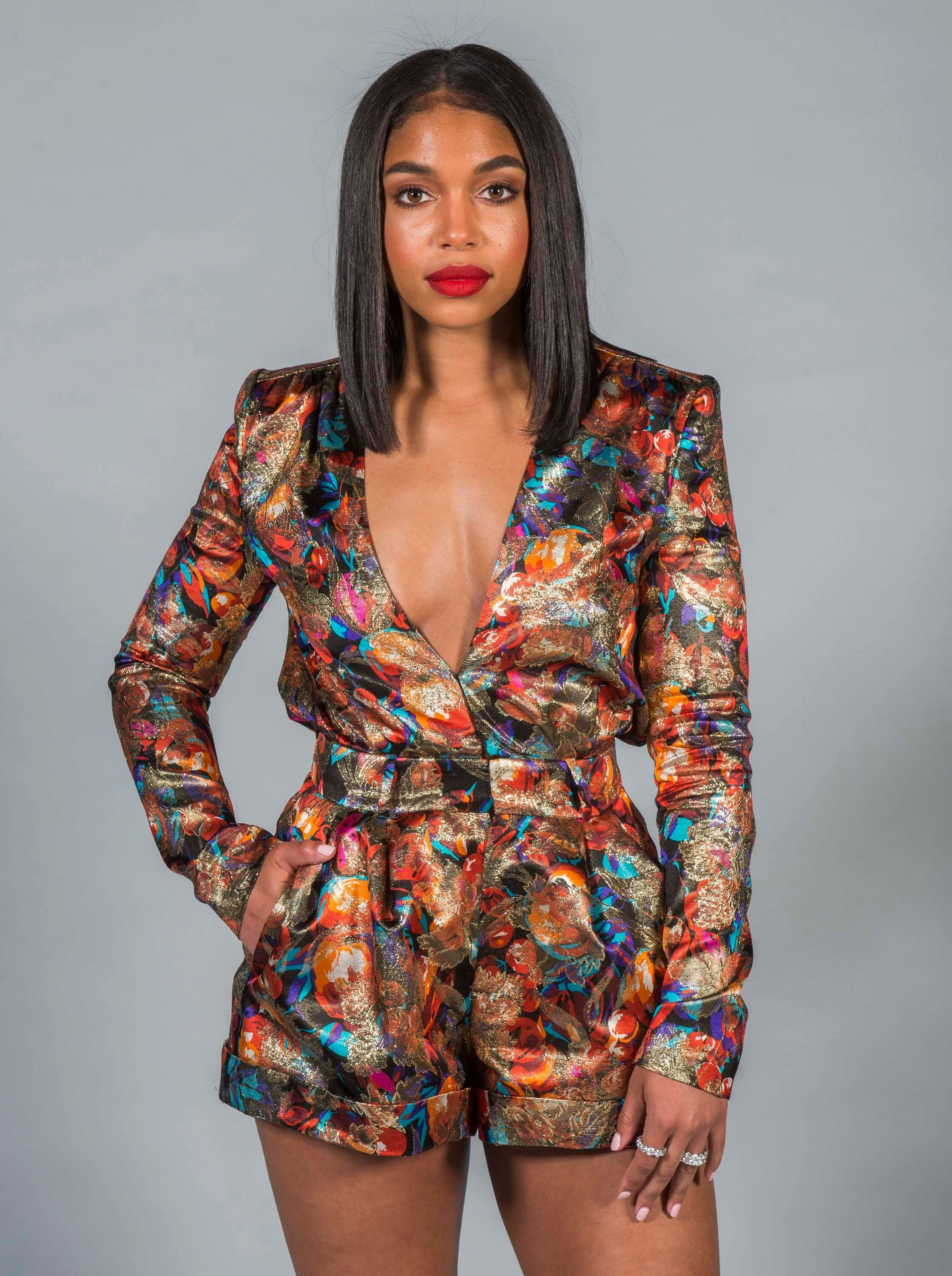 Lori Harvey, daughter of celebrity show host Steve Harvey/ Source: Getty Images