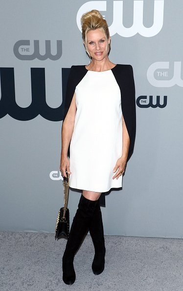 Nicollette Sheridan attends the 2018 CW Network Upfront in New York City. | Photo: Getty Images