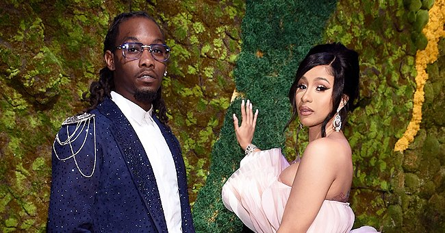 Cardi B and Husband Offset Set up Five Beautiful Christmas Trees and Fans Are in Love —Video