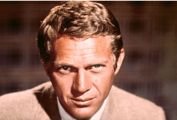 Hollywood, California: Close-up of actor Steve McQueen. Filed 3/1966.| Source: Getty Images