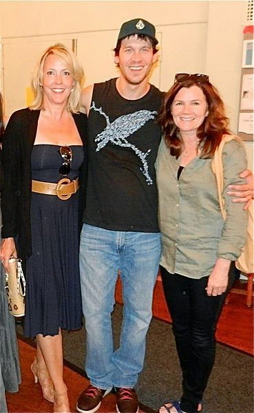 "Kambri Crews, Russell Harvard & Mare Winningham at ""Tribes."" 