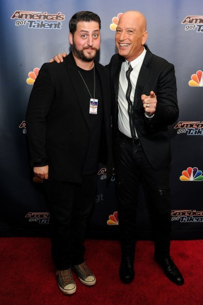 "Alex Mandel and Howie Mandel attend ""America's Got Talent"" season 9 post show red carpet event at Radio City Music Hall on September 10, 2014, in New York City. 