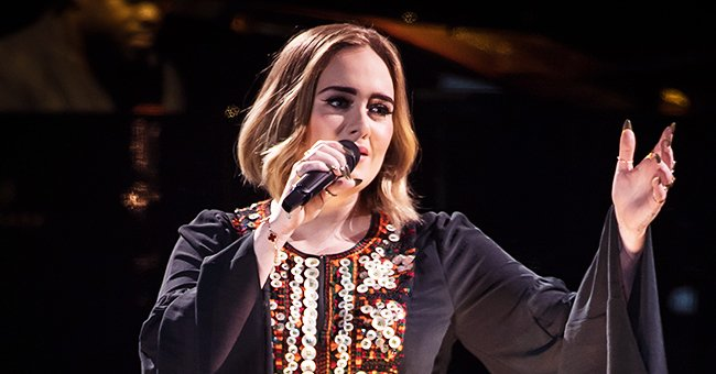 Adele Looks Skinny in New Photos Wearing a Dress She Once Wore in 2016
