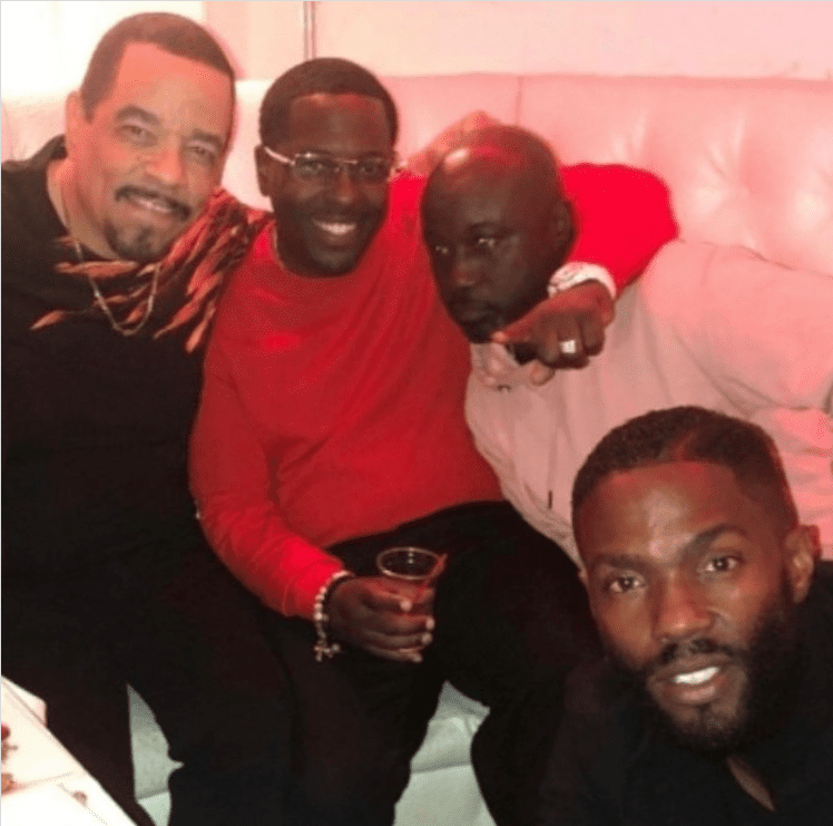 A picture of rapper Ice T and his friends hanging out | Photo: Instagram/icet