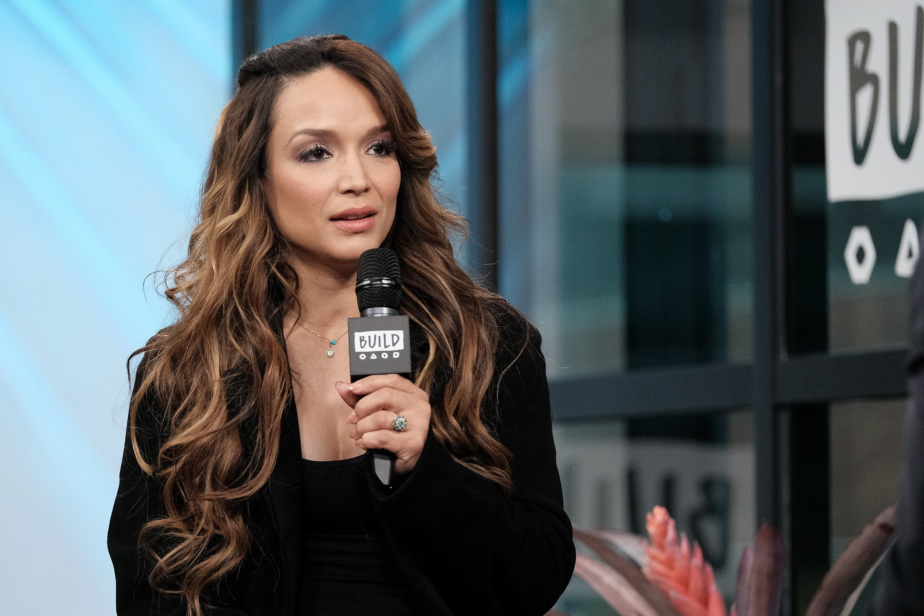 """Mayte Garcia attends the Build Series to discuss """"The Most Beautiful: My Life With Prince"""" at Build Studio on April 6, 2017 in New York 