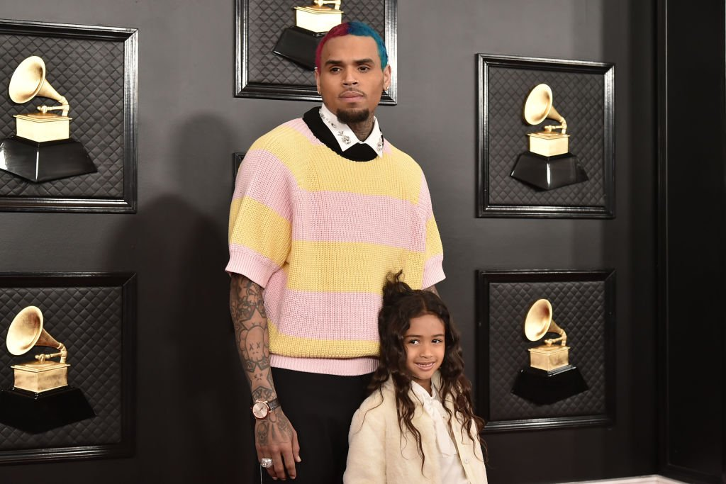 Chris Brown and Royalty Brown attend the 62nd Annual Grammy Awards,2020| Photo: Getty Images