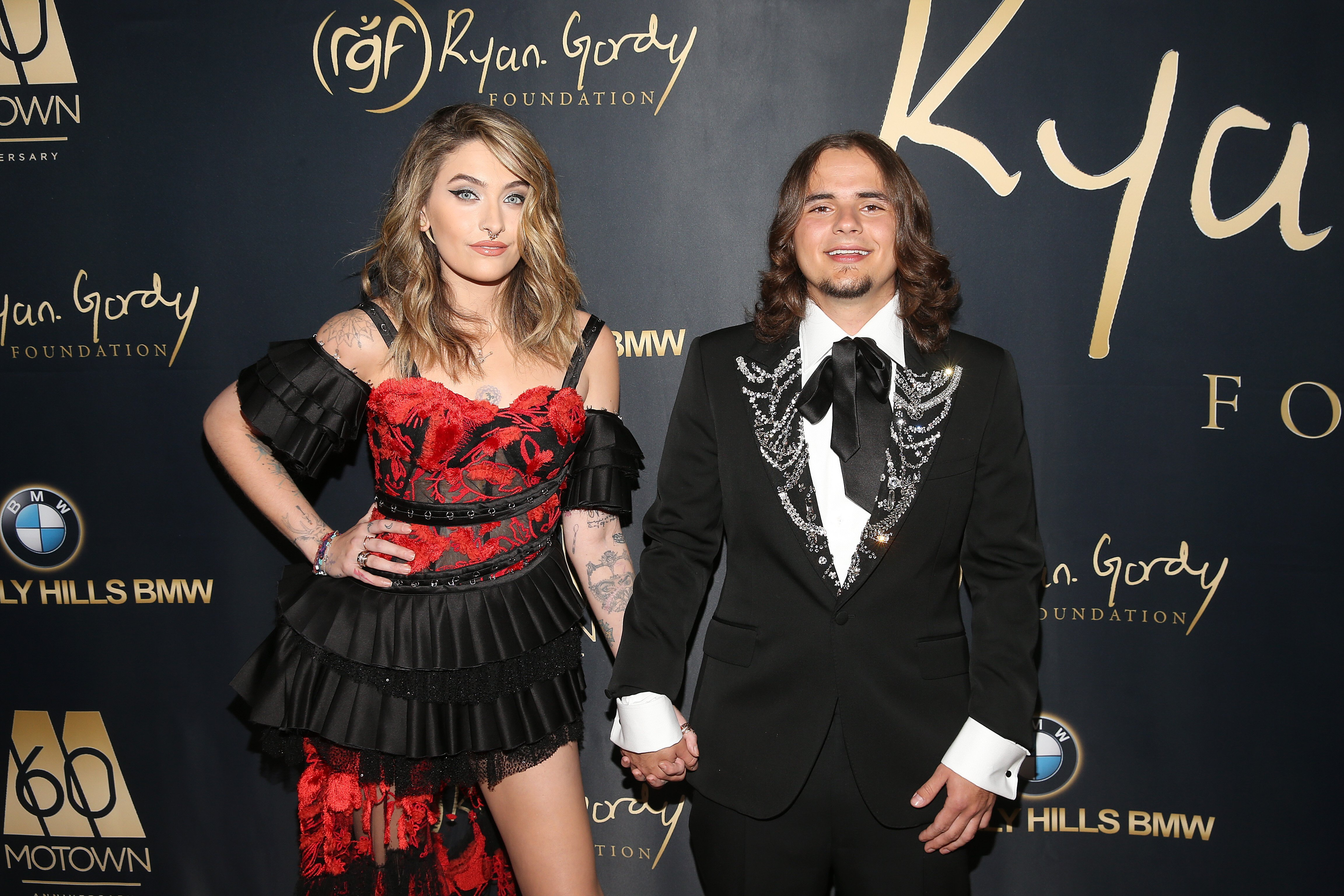 Paris Jackson and Prince Jackson at the Ryan Gordy Foundation's sixty years anniversary Gala | Photo: Getty Images