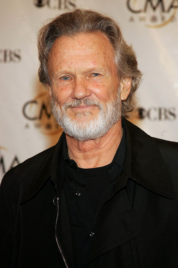 Kris Kristofferson during the 38th Annual CMA Awards at the Grand Ole Opry House November 9, 2004 in Nashville, Tennessee. | Source: Getty Images