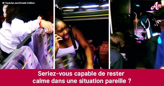 Les passagers ont commencé à sauter du bus après que le conducteur ait choisi de ne pas dire ce qui s'était passé
