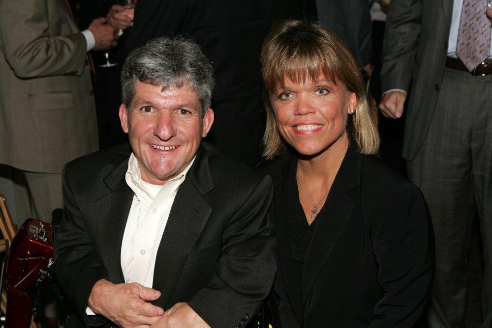 Matt and Amy Roloff attending the Discovery Upfront Presentation NY - Talent Images in New York City in April 2008. | Image: Getty Images.