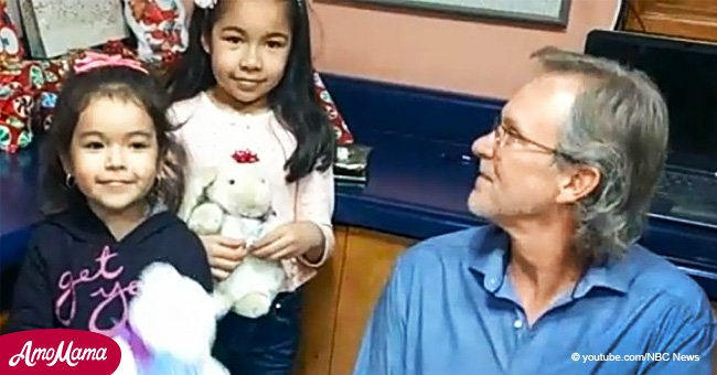 Arizona man fullfils Mexican girl's Christmas wishes sent over the wall tied to a balloon
