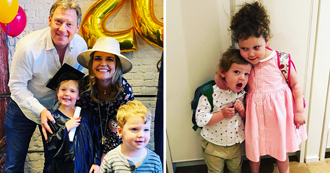 Savannah Guthrie Shares Photos of Little Son and Daughter's Graduation