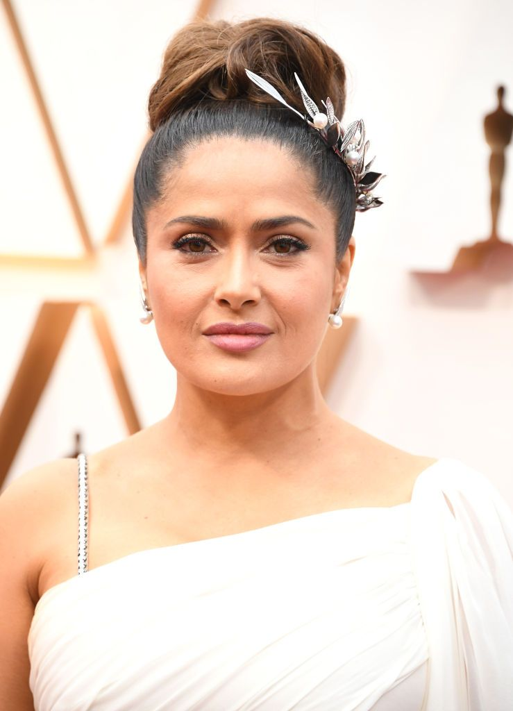 Salma Hayek at the 92nd Annual Academy Awards at Hollywood and Highland on February 09, 2020 in Hollywood, California. | Source: Getty Images