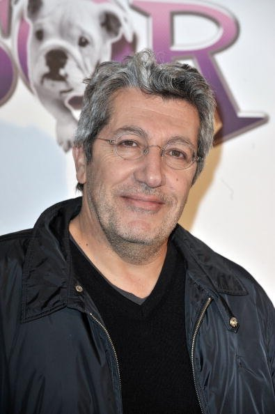 Alain Chabat au Cinéma Gaumont Capucine le 9 novembre 2009 à Paris, France. | Photo : Getty Images