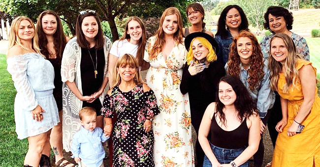 Isabel Rock Wears a Floral Dress in Bridal Shower Pics with the Roloffs