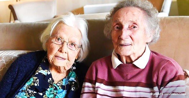 Amigas de infancia que perdieron contacto por 70 años se reúnen por accidente en mismo ancianato