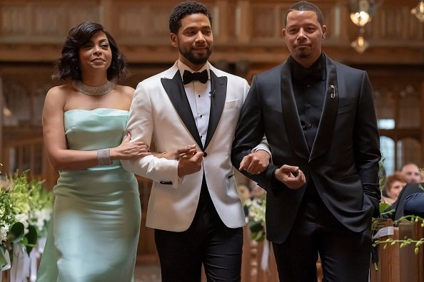 "Taraji P. Henson, Jussie Smollett and Terrence Howard in the ""Never Doubt I Love"" episode of EMPIRE - Season Five 