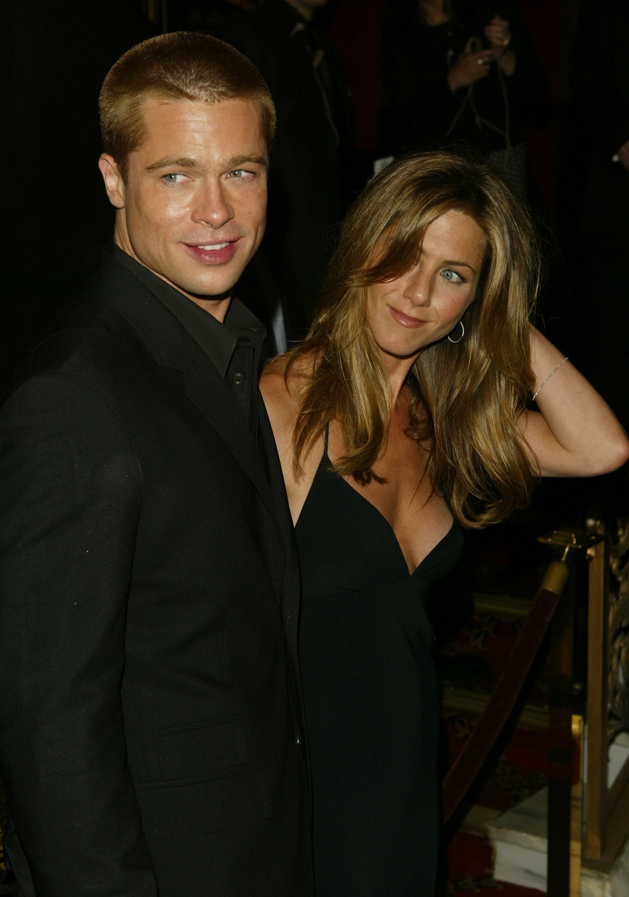 Brad Pitt and Jennifer Aniston when they were still an item | Photo: Getty Images