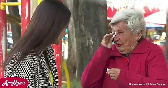 Mujer de 82 años queda desamparada tras ser abandonada por su familia