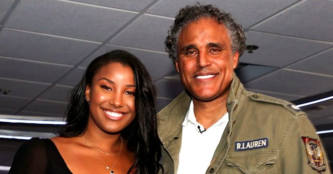 Rick Fox of 'Meet The Browns' and Daughter Sasha Co-Star for the First Time in 'One Fine Christmas'