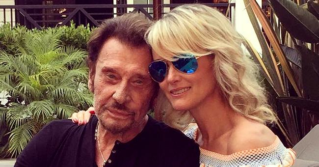 """Près de 2 ans après la mort de Johnny Hallyday, sa femme Laeticia témoigne : """"Je choisis la paix"""